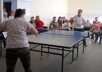 Rozgrywki w tenisie stołowym
